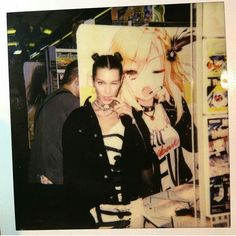 "Polaroid of Bella Hadid ""Shibuya"" 2016 Bella Hadid Outfits, Bella Hadid Style, Isabella Hadid, Kawaii, Street Style, Gigi Hadid, Film Photography, My Idol, Supermodels"