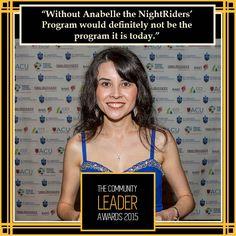 @Anabelle Hamer, Volunteer of the Year 2014 #theleaders2015