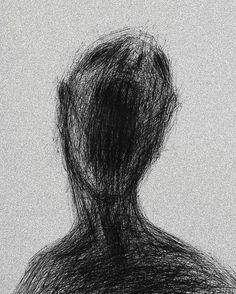 Scary Drawings, Dark Art Drawings, Art Drawings Sketches, Depressing Paintings, Arte Indie, Beautiful Dark Art, Scribble Art, Arte Obscura, Arte Sketchbook