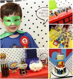 Superhero party idea