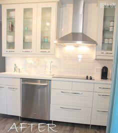 little kitchen huge style