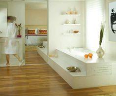 banheiros com banheira - Pesquisa Google