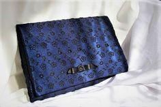 #bag #handmade #blue #black