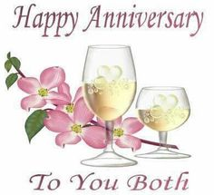 Happy Anniversary Pictures For Friends Anniversary Wishes For Boyfriend, Happy Wedding Anniversary Wishes, Anniversary Message, Anniversary Greetings, Anniversary Pictures, Anniversary Sayings, Romantic Anniversary, 1st Anniversary, Happy Birthday Images