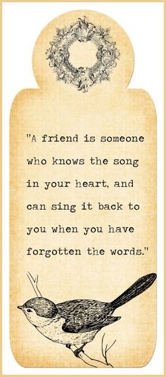 A Friend is . . . | Content in a Cottage