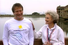 Robin Williams and his mom Laurie McLaurin Williams