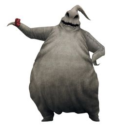 the oogie boogie man - posture