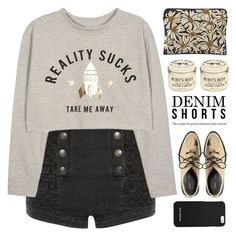 """""""TAKE ME AWAY"""" by emmas-fashion-diary ❤ liked on Polyvore featuring Pierre Balmain, Forest of Chintz, Proenza Schouler, Burt's Bees and MICHAEL Michael Kors"""