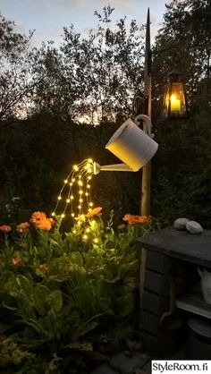 Watering Can Light