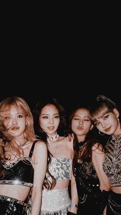 Blackpink in your area Divas, Kpop Girl Groups, Kpop Girls, Lisa Park, Coachella, Blackpink Wallpaper, Black Wallpaper, Black Pink Kpop, Blackpink Photos