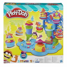 Hi, kids! Would you like to have some Play Doh fun for kids and play with Dough for kids? Come watch a new Play-Doh unboxing video for children on our kids' . Play Doh Knete, Play Doh Plus, Play Dough, Cupcake Mold, World Play, Carrousel, Animal Crackers, Kits For Kids, Gift Ideas