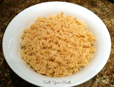 Greasy Rice! A classic Southern rice dish made from pan drippings and stock [pronounced GREEEEEEEE-zy] ha!