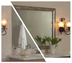 Venetian Silver Wave    mirrormate.com