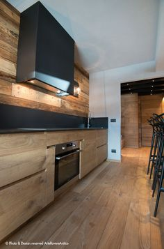 Wood kitchen inspiration || Arte Rovere Antico || Photo by Duilio Beltramone for Sgsm.it ||