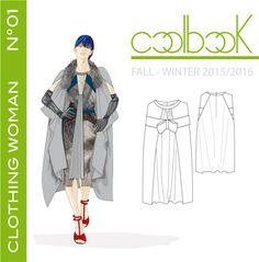 "l'anteprima di copertina del book di tendenza ""clothing woman fall/winter 2015/2016"" previsto in uscita il 28/07/2014 e pubblicato su http://www.coolbook.it/shop-2/"
