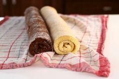 Blat de ruladă simplu și cu cacao, rețetă video pas cu pas. Cum se face un blat de ruladă cu vanilie? Cum se face un blat de ruladă din...