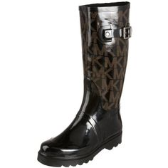 Michael Michael Kors Women's MK Logo Rainboot Boot - designer shoes, handbags, jewelry, watches, and fashion accessories   endless.com