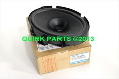 2009-2013 Mazda3 & Mazda6 Loud Door Speaker Genuine OEM NEW Part # GS1E-66-960A #Mazda