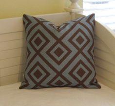 David Hicks La Fiorentina Linen Pillow Cover  by SewSusieDesigns