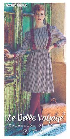 Vestido Audrey. Vestido de voile de viscosa estampada en flor modernista combinado con Crêpe de Neopreno en tono grama. Precio: 46'14 €