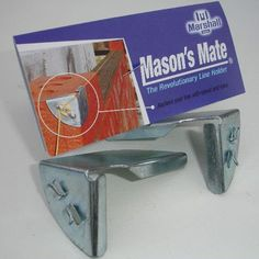 Masons Mate :: Builders Line Anchor Corner Brackets.  Masons Mate - The revolutionary line holder.  Builders Line Anchor - Anchors your building line with speed, ease and absoluteaccuracy. Theline