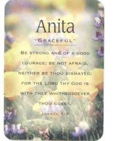 Anita Name Image