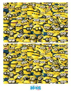 12 differences minions