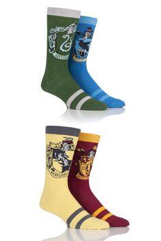Men's Harry Potter Hogwarts Houses Badge Socks from SOCKSHOP Harry Potter Socks, Harry Potter Outfits, Harry Potter Hogwarts, Pac Man, Missouri, Harry Potter Kleidung, Four Houses Of Hogwarts, Fashion Models, Corset