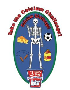 Calcium challenge and co-ops for community patch programs for scouts, clubs and groups.