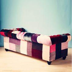 Verrückte Sofas collection luxury designer patchwork sofa seating ideas