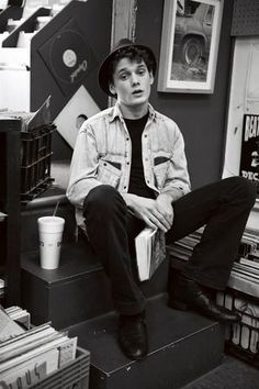 Anton Yelchin-a little young but cute