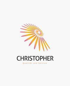 Logo Abstrakte Spirale