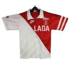 AS Monaco 89 / 90 (H) Nike uniforms and