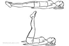 Leg Raises - remember to keep low back on the floor (even if your legs don't go all the way down)