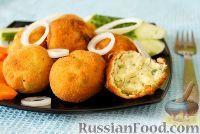 Фото к рецепту: Картофельные крокеты