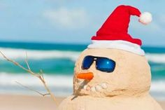 Travel Deal: Bahamas Off Season Rates Available Through to December 24 - Alexandra Resort on Grace Bay Beach Christmas In Paris, Tropical Christmas, Xmas, Beach Christmas, Merry Christmas, Sand Snowman, Snowmen, Caribbean Christmas, Grace Bay Beach