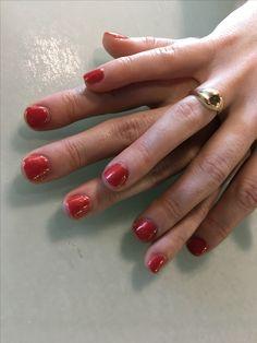 Go with the lava flow by opi 💅🏽 #gelnails #gelcolor #polishednailbar #gelpolish #opi #gelmani @opi_products @polished_nail_bar