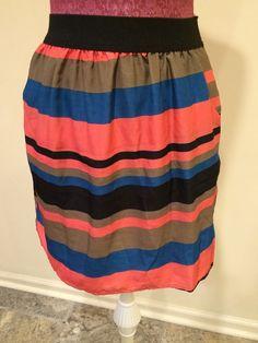 Emmelee Skirt Size Medium Multicolor | eBay
