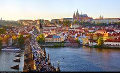 A4 Glossy Photo Wall Art of Prague Czech by CharnwoodPhotography