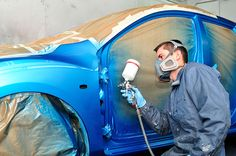 Complete Car Paint: We offer complete vehicle painting with the highest quality automotive paints and clear coat. We can do both custom and factory colors on your vehicle. All of our car repaints are performed in our state of the art spry booths by skilled paint technicians. We always remove all panels from your car to ensure a complete spot free paint job that will last a lifetime. #cars #autobodyshop #autorepair