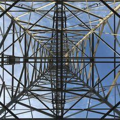 Line it Up . #powertower #pylon #iPhone6S by macenzo