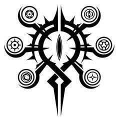 #wattpad #fanfic En un mundo donde los Seres de otra raza y los humanos conviven en armonía... La mayoría de estos Seres son malvados algunos atacan a la humanidad por solo capricho, ya que estos mismo consideran a los humanos como los mas débiles cosa que quieren dominarlos para someterlos por completo, provocando... Demon Symbols, Magic Symbols, Occult Symbols, Zed Wallpaper, Symbol Design, Magic Circle, Magic Art, Symbolic Tattoos, Dark Fantasy Art
