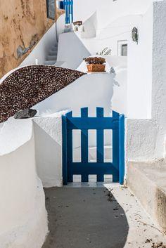 The Blue Gate, Santorini, Greece