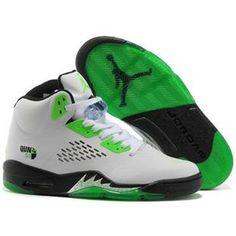 Nike Air Jordan V Shoes in White and Black Green, cheap Jordan If you want to look Nike Air Jordan V Shoes in White and Black Green, you can view the Jordan ...