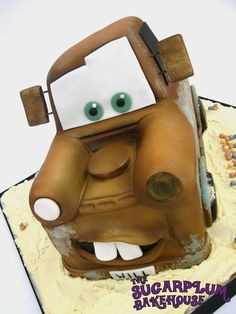 Mater - Disney Cars Cake