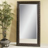 Found it at Wayfair - Newcombe Leaner Mirror - Fruitwood