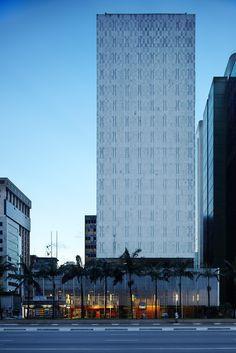 Edifício do Banco Sul-Americano - Rino Levi, 1960