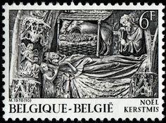 Selos de Portugal e do mundo : Selo da Bélgica