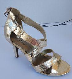 Mona Mia India Peep Toe Platform Wedge Ankle Boot Shoes Yellow 6-10