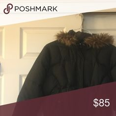 Calvin Klein women's short waisted coat size Large Calvin Klein women's short waisted coat size Large 70% down 30% feather plume Calvin Klein Jeans Jackets & Coats Puffers